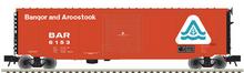 Atlas O BAR (late sceme)  50' PS-1 single door door box car, 3 rail