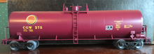Weaver CGW (maroon) 50' tank car, 3 rail or 2 rail