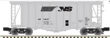 Atlas O NS Airslide Covered Hopper, 3 rail or 2 rail