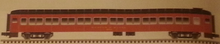 Atlas O 80' B&M Pullman-Bradley coach Car, 3 rail or 2 rail
