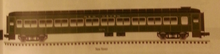 Atlas O 80' NH green (no logo) Pullman-Bradley coach Car, 3 rail or 2 rail,