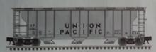 Atlas O UP (gray/black) 40' 3 Bay PS-2 Covered Hopper, 3 rail or 2 rail