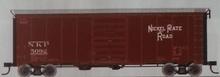 Atlas O NKP 40' steel box  car, 1940's-1960's, 8' door