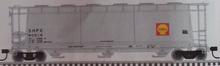 Atlas O Shell Chemical Cylindrical  Covered Hopper