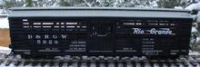 Weaver Rio Grande  40' stock car, 3 or 2 rail