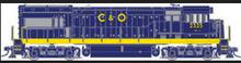 Atlas O C&O U-23b, 3 rail, horn and bell