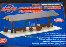 Atlas O Passenger Station Platforms Kit