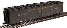 Atlas O Troop Kitchen car , 2 rail or 3 rail, 3 rail or 2 rail