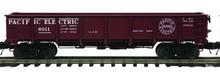 MTH special run Pacific Electric 55 Ton Steel Drop Bottom Gondola Car, 3 rail or 2 rail