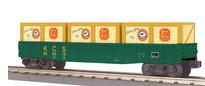 MTH Railking KCS gondola with crates, 3 rail