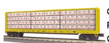 MTH Rail King PLE Center I-Beam Flat Car, 3 rail