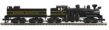 MTH Premier Western Maryland 4 truck Shay, 2 rail, P3.0, DCC