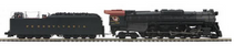 MTH Premier PRR 2-10-4  J-1 steam loco, 2 rail, P3.0, DCC