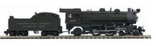 MTH Premier PRSL 4-4-2  E-6    steam loco, 2 rail, P3.0, DCC