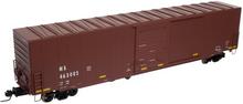 Atlas O Ns (tuscan, plain) 60' auto parts  box car,  3 rail or 2 rail