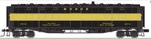 Atlas O Monon Baggage/express converted troop Kitchen  car