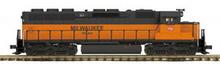 MTH Premier Milwaukee Road SD-45 diesel, 2 rail, p2.0, sound, cruise, exhaust