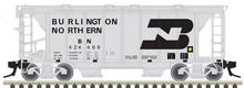 Atlas O BN ACF 34' AC-2 Covered Hopper car, 3 rail or 2 rail