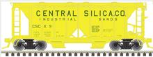 Atlas O Central Silica ACF 34' AC-2 Covered Hopper car, 3 rail or 2 rail