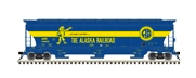 Pre-order for Atlas O Alaska RR  trinity 5161  covered hopper
