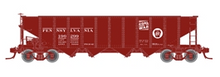 "Atlas O PRR ""coal goes to war"" H21a 4 bay hopper, 3 rail or 2 rail"