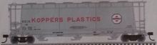 Atlas O Koppers Plastics Cylindrical  Covered Hopper