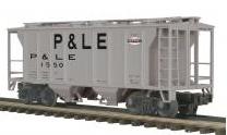 MTH Premier Pittsburgh & Lake Erie PS-2 34' Covered Hopper, 3 rail