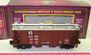 MTH Premier Santa Fe PS-2 34' Covered Hopper, 3 rail