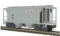 MTH Premier Lehigh New England PS-2 34' Covered Hopper, 3 rail
