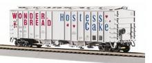 MTH Premier Wonder Bread  50' Airslide covered Hopper, 3 rail