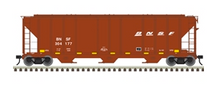 Pre-order for Atlas O BNSF PS-4427  covered hopper, 3 rail or 2 rail