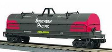 MTH Premier Southern Pacific Coil Car (red/gray), 3 rail