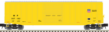 Pre-order for Atlas O (trainman) MP/UP yellow 50' 1970's and later style box car,