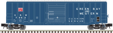 Pre-order for Atlas O (trainman) GB&W (blue) 50' 1970's and later style box car,