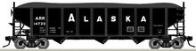 Pre-Order for Atlas O Alaska RR 3 bay 40' hopper car