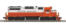 MTH Premier WM (circus colors)  SD-35, deisel, 3 rail, p3.0, sound, cruise, exhaust