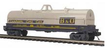 MTH Premier B&O Coil steel Car, 3 rail