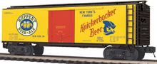 MTH Premier Knickerbocker Beer 40' Steel  Reefer, 3 rail