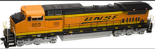 Atlas O BNSF Dash 8-40CW, 3r, tmcc, smoke, cruise,