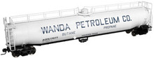 Atlas O Wanda Petroluem 33,000 gal. LPG tank car, 3 rail or 2 rail