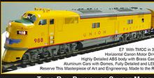 3rd Rail Union Pacific  E-7A  diesel, 3 rail