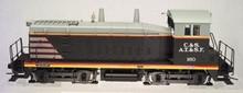 Atlas O  C&S/CBQ/ATSF SW-1200  diesel, 2 rail, DC