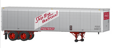 Lionel 1960's style Frisco (SLSF) 40' trailer,  2 pack