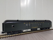 Golden Gate Depot Burlington (CB&Q)  70' harriman style baggage/mail car, 2 rail