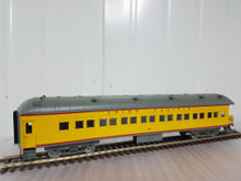 Golden Gate Depot UP (Yellow) 70'  harriman style  passenger cars 6 car set, 3 rail