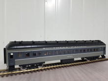 Golden Gate Depot SP 2 tone gray  70' harriman passenger   4 car set ,  2 rail