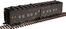 Atlas O 6 car troop train, 2 rail