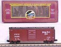 MTH Premier Nickel Plate Road 40' Single Door Box car, 3 rail