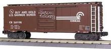 MTH Premier Conrail 40' Single Door Box car, 3 rail