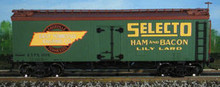Atlas O  Selecto  36' reefer,  3 rail or 2 rail